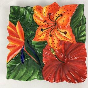Centrum Dining - Centrum Aloha Collection Tropical Serving Plate